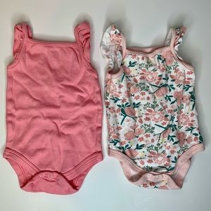 Kyle and Deena | Floral and Pink Onesies